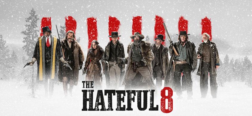 The Hateful 8 - Banner