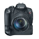 Canon EOS 700D : Rebel T5i : Kiss X7i with Battery Grip