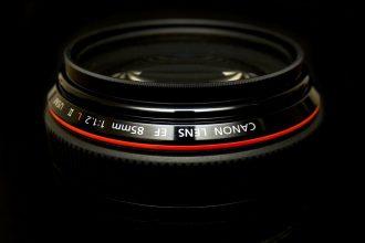 canon ef 85mm f:1.2 L lens