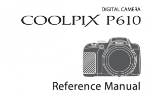 Nikon COOLPIX P900 Instruction or User Manual [PDF