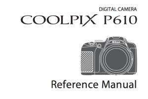 Nikon COOLPIX P900 Instruction or User Manual [PDF