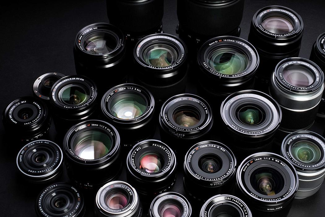 Fujifilm FUJINON lenses