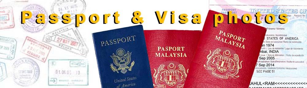 Digital Passport photo & Visa
