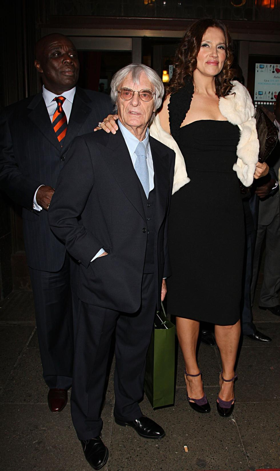 Stars and their height differences Croatian model Slavica Ecclestone towers over her former Formula One racing  CEO husband Bernie Ecclestone