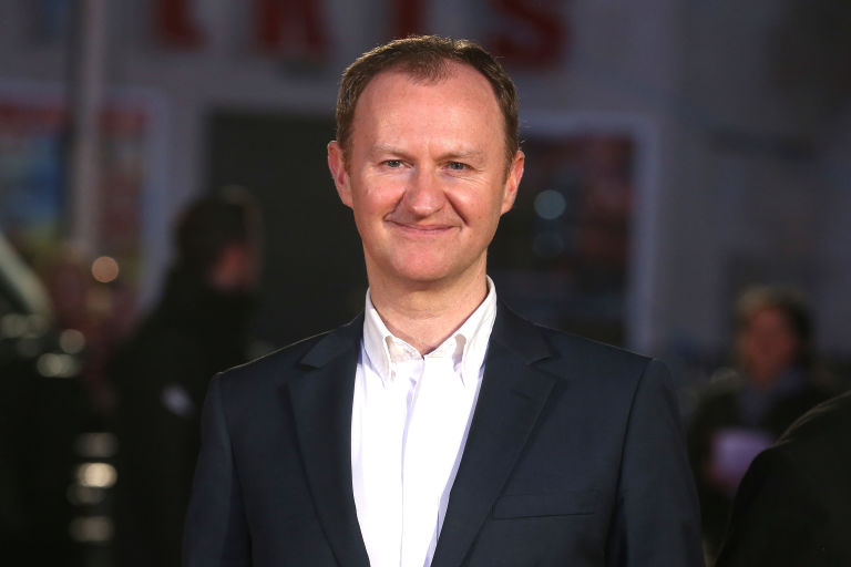 Mark Gatiss attends 'Dad's Army' World Premiere at the Odeon Leicester Square