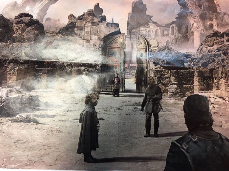 game of thrones spoiler dragonpit entrance concept art