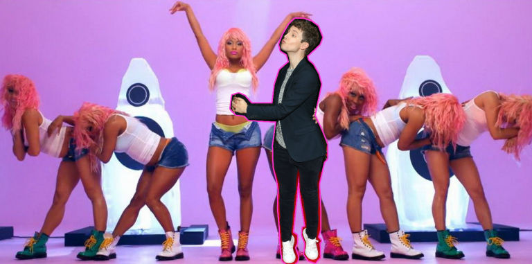 Matt Edmondson in Super Bass Nicki Minaj