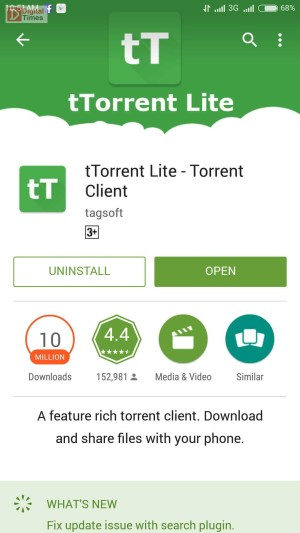 TTorrent Screenshots1