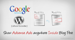 How to easily show Adsense Ads anywhere inside Blog Post