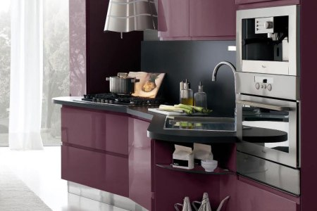 new modern kitchen design with white cabinets bring from stosa 1