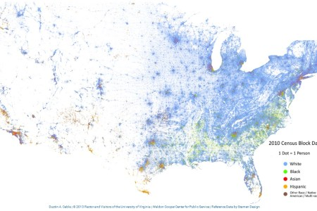 how racially diverse are american cities? check these maps