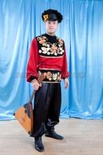 2070. Хохлома. Мужской русский народный костюм.