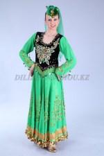 2156 уйгурский национальный костюм женский