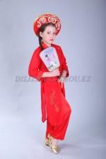 1198r. Национальный костюм - вьетнамская девочка