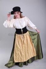 2096. Трактирщица. Немецкий женский костюм большого размера.