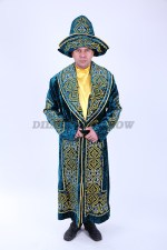 33350. Шалкар. Казахский национальный чапан.