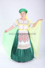 33551. Белорусский народный костюм большого размера