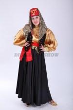33609. Севиль - турецкий народный костюм с чёрной жилеткой