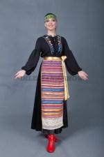 5777. Русский женский костюм.В комплекте рубаха, фартук, лента