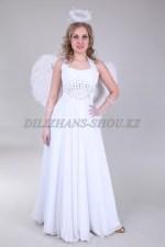 1321. Ангел с белыми перьевыми крыльями