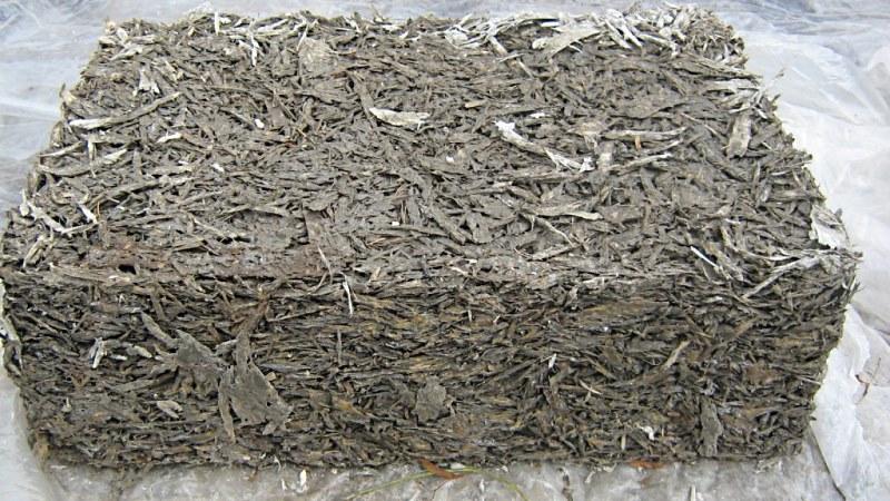 Как сделать раствор цемента и опилок