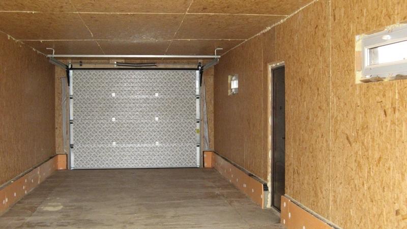 фото гаража из сэндвич-панелей