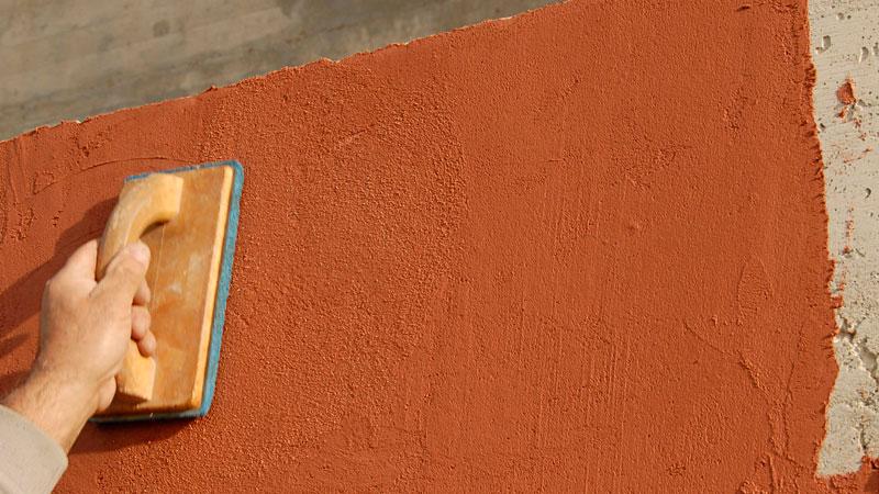 Декоративная штукатурка фасада своими руками из обычной шпаклевки видео - Свое счастье