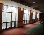 12. New Windows in Fellowship hall