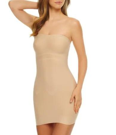wedding dress undergarments dillards wedding dress undergarments Tc Fine Shapewear Just Enough Strapless Slip