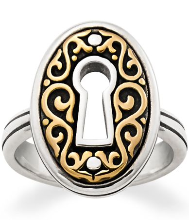james avery wedding bands James Avery Journeys Keyhole Ring