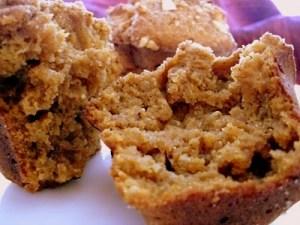 butternut quinoa muffins