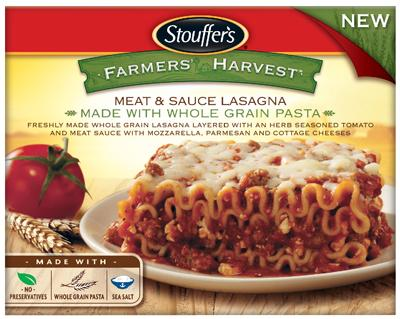 Stouffer's Farmers' Harvest Meat Lasagna