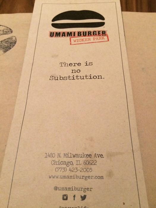 Umami Burger Chicago