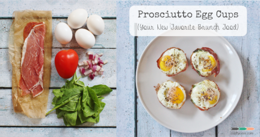 Recipe of the Day: Day 12, Prosciutto Egg Cups | Dining at ...