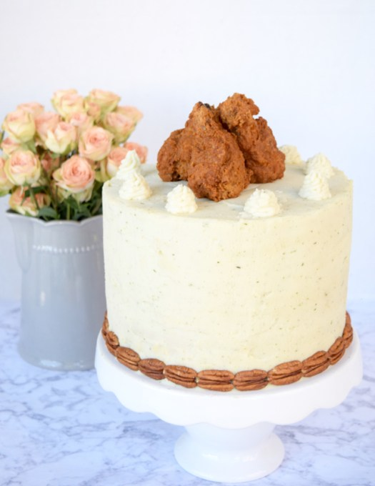 Fried-Chicken-Cake-Recipe