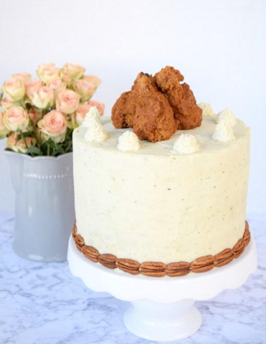 Fried-Chicken-Cake-Recipe