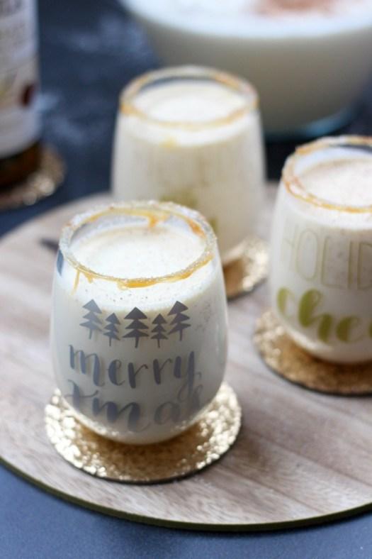 Salted Caramel Eggnog