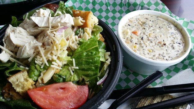 Italian Chopped Salad at Zuppa Cucina in Shakopee, MN