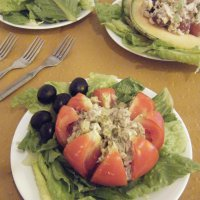 105. Tuna Salad 3 Way
