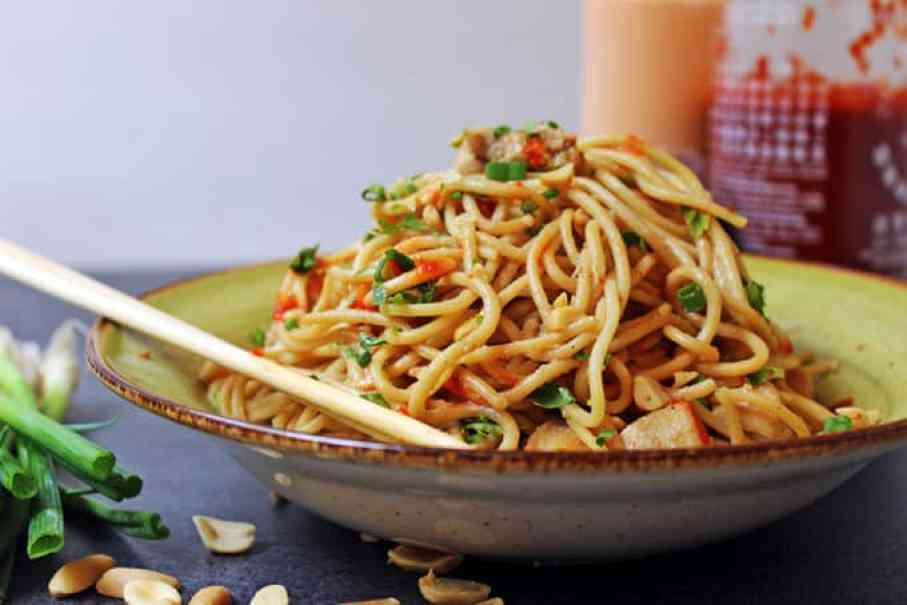 Ingredient Asian Peanut Noodles – A staple pantry recipe! | Dinner ...