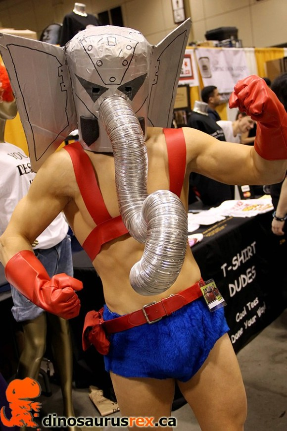 Cosplay Elephant Wrestler