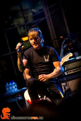 Benjamin Kowalewicz - Billy Talent - yonge dundas - nxne 2013