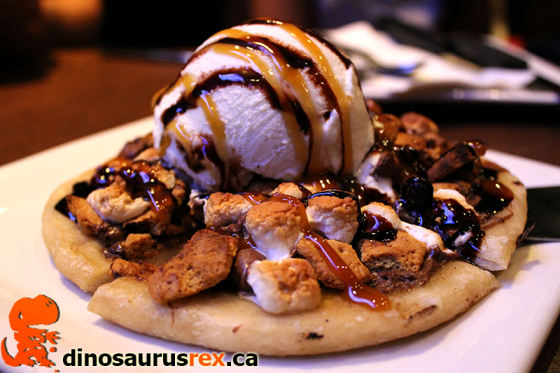 Boston Pizza - S'mores Pizza