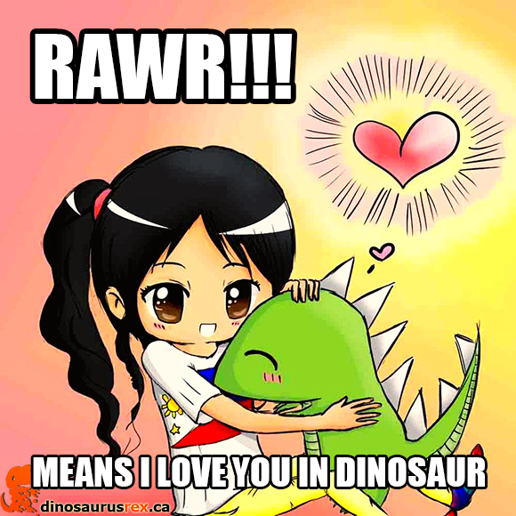 dino-love-luv-fans-of-dinosarurus-rex-cute-anime-chick-girl-kissing-and-hugging-mr-dino-dinosaur-rawr-means-i-love-you-in-dinosaur