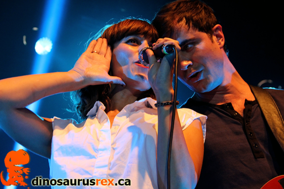 Photoblog | Dragonette with Young Empires @ Sound Academy