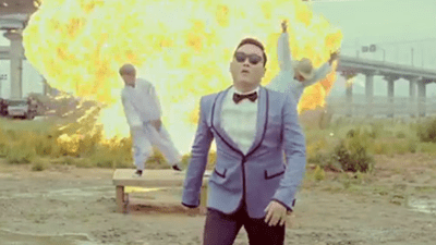 Gangnam Style Explosion