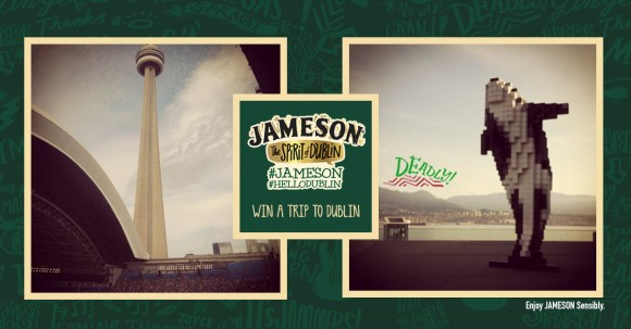 Jameson Hello Dublin Contest - Toronto