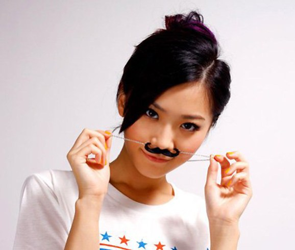 asain-girl-with-mustache-cute-chick-with-mustache-mosister