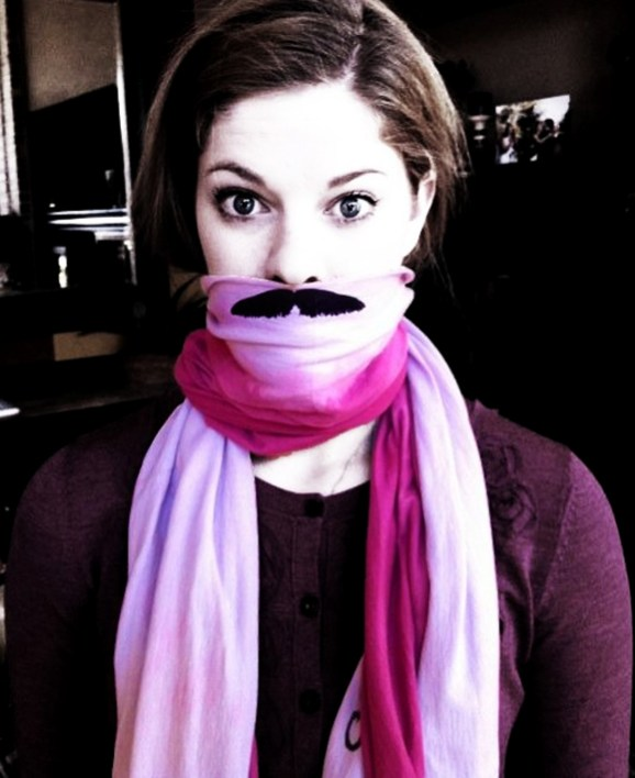 webcam-girl-with-mustache-scarf-cute-chick-with-moustache-scarf-movember-2012