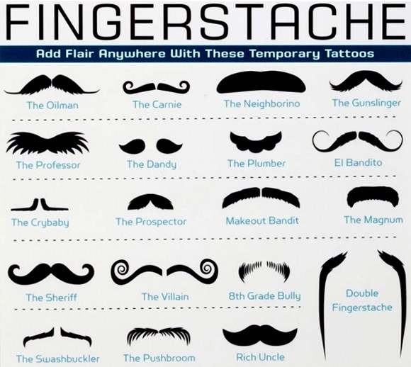 types-of-mustaches-moustaches-finger-staches-styles